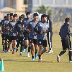 اختبارات بدنية للاعبي هجر تجهز الفريق لإنطلاق الدور الثاني من الدوري
