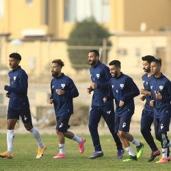 رئيس النادي يجتمع باللاعبين .. والفريق يبدأ الاستعداد لمباراة الخليج