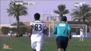 """""""هدف هجر الأول في مرمى المجزل """"خالد الرجيب"""