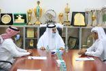 رئيس الاتحاد السعودي للكاراتيه يزور نادي هجر