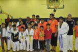 براعم فريق التايكواندو بنادي هجر يحققون المركز الثالث في بطولة المنطقة الشرقية
