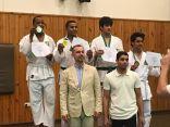 لاعبي فريق الجودو بنادي هجر يحصدون عدداً من الميداليات في بطولة المملكة للنخبة
