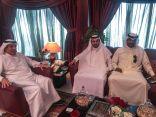 """عضو شرف هجر رجل الأعمال """"باسم الغدير"""" يقدم دعماً مالياً للنادي"""