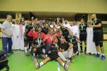 فريق كرة اليد بنادي هجر يُتوَّج بطلاً لدوري الدرجة الأولى لكرة اليد