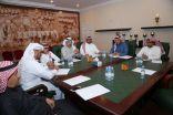 """تزكية ثلاثة أعضاء للإنضمام لمجلس إدارة نادي هجر وتنصيب """"أسامة النعيم"""" نائباً للرئيس"""